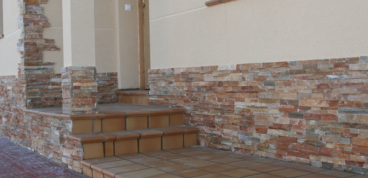 Laja panel cuarcita jbernardos 60 15 precio caja 0 36 m2 - Piedra para pared exterior ...